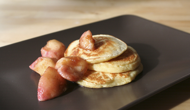 Quark pancakes with spiced apples the sweetest brunch quark ccuart Images